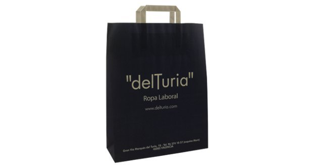 Takeaway Paper Carrier Bags