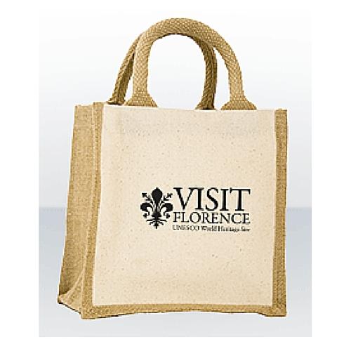Jute Bags Short Cotton Web Handle