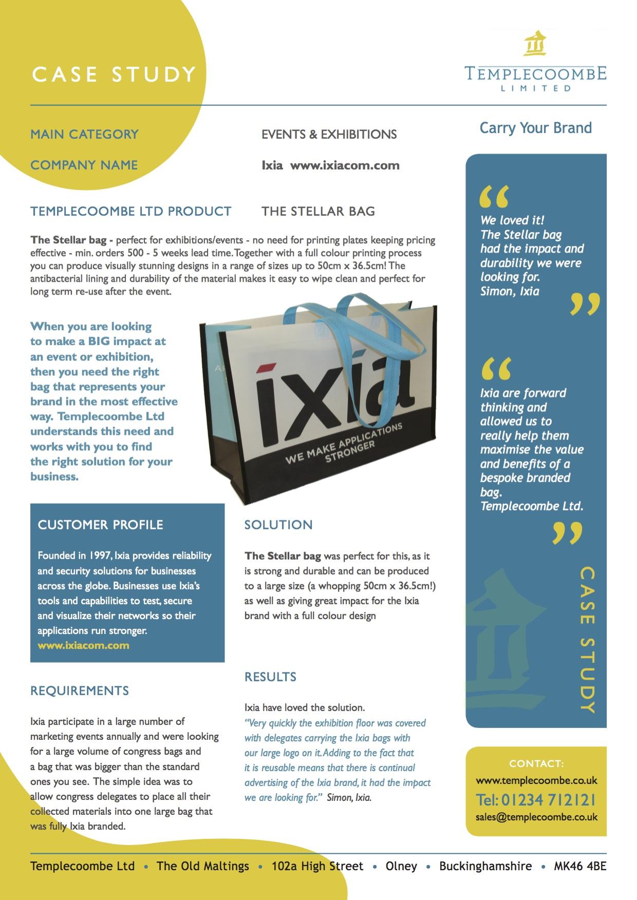case study ixia