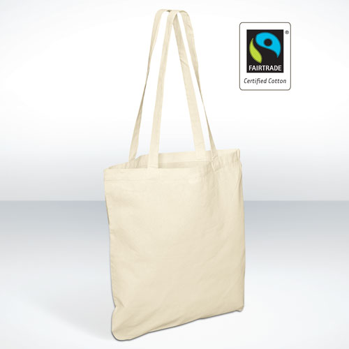Fairtrade Cotton Bags Long Handle