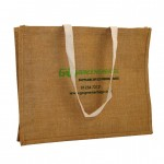 Jute Bags Long Cotton Tape Handle