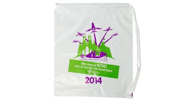 Duffle Handle Plastic Carrier Bag