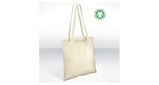 Fairtrade and Organic Cotton Carrier Bags Printed Carrier Bags