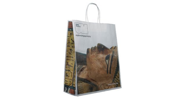 Twisted Handle Paper Carrier Bags Printed Carrier Bags