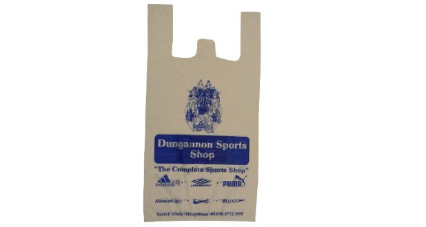 Vest Handle Plastic Carrier Bags