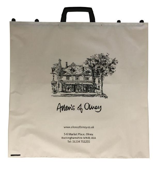 Clip Close Carrier Bags