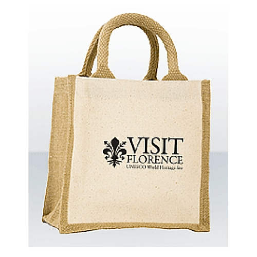Jute Bags Short Cotton Web Handle
