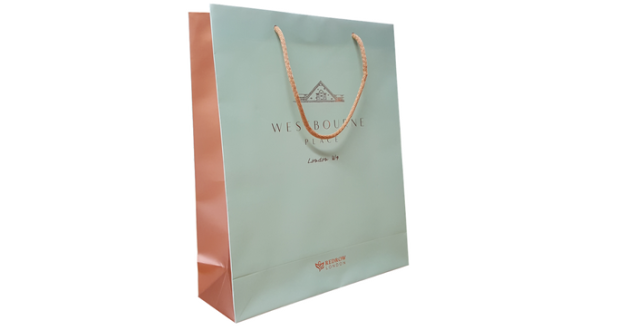 Matt Laminated Paper Bag – Westbourne Place