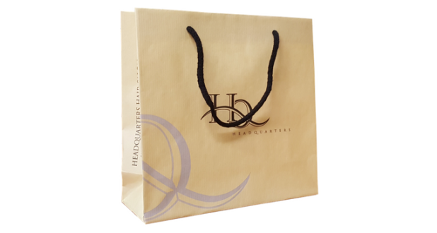 Un Laminated Paper Bag – HQ Hair Salon