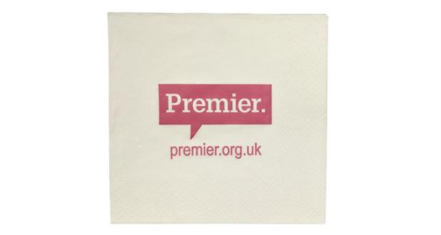 Printed Paper Napkins Premier