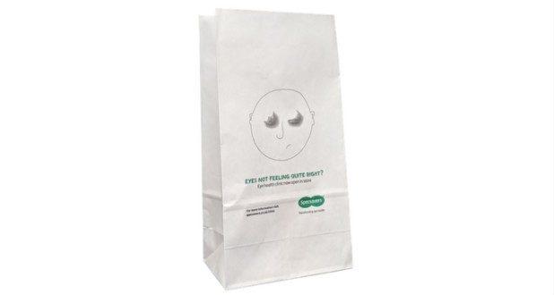 Block Bottom Paper Bags Printed Carrier Bags
