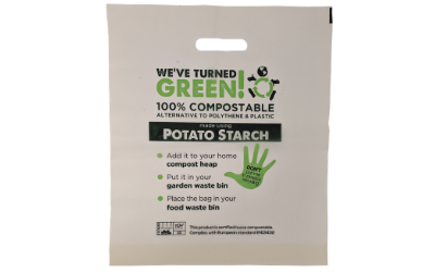 Carrier Bags Made From Potato Starch