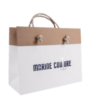 Un Laminated Luxury Rope Handle Paper Bags