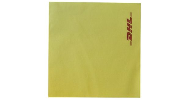 Yellow Paper Napkin