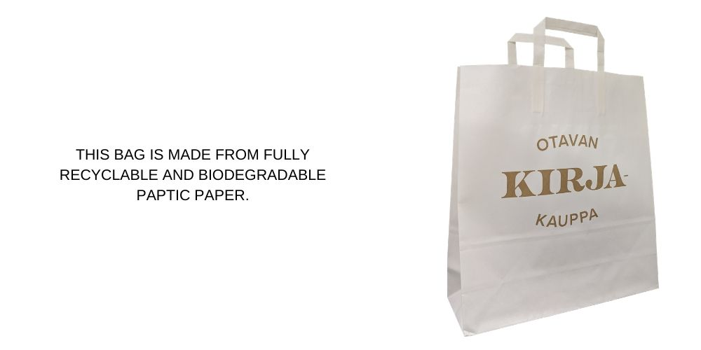 Water Resistant Extra Strong Paper Printed Carrier Bags