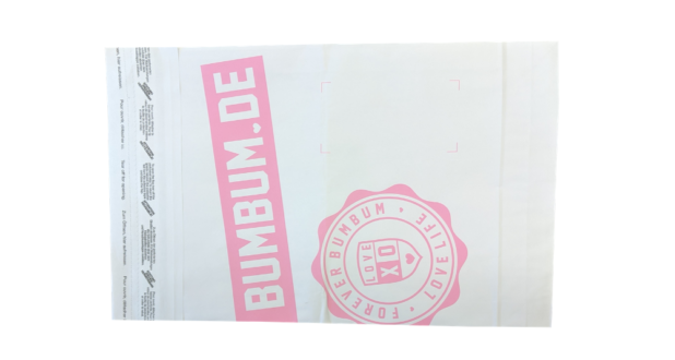 Printed Paper Mailing Bag1a